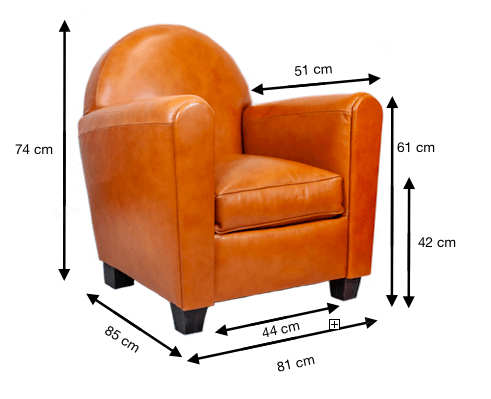 FAUTEUIL-CLUB-CAMEL